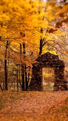 Natures Doorway in the Fall...Amazing! I wish I knew exactly where this is!