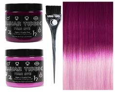 Make ombre easy with this ombre fade kit! The Pink DIY Ombre Kit features our Fuchsia Dawn (dark fuchsia shade) and our Petal Pink (pastel pink shade). Kit includes one 4 oz. dark toned pink, one 4 oz