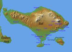 tourist map of bali indonesia tourist information, travel destination, travel and tourism Lombok, Ubud, Lovina Bali, Philippines, Voyage Bali, Some Beautiful Images, Beautiful Places, Bali Travel Guide, Bali Holidays