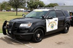 Us Police Car, Police Truck, Ford Police, Police Patrol, Military Police, State Police, California Highway Patrol, Ford Explorer, Fire Department Ranks