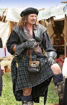 habit traditionnel écossais
