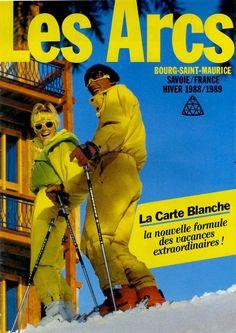 promo les arcs 1989 - Christine et Yann !!