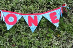 Cowboy theme first birthday banner by FstopCreations on Etsy, $12.99