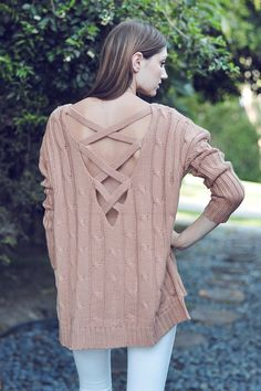 Copper Knit Sweater