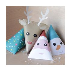 Kit de 4 berlingots à fabriquer Spécial Noël - Boutique Idée Créative