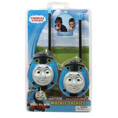Whether you are trying to keep an eye on your child or your little one is just playing these adorable Thomas Walkie Talkies are a perfect choice. Walkie Talkie features flexible safety antenna, volume