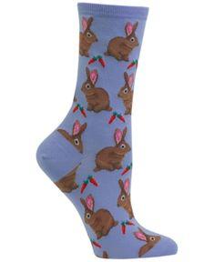 Hot Sox Womens Dreidel Dog Crew Socks