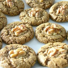 """The Rebbetzin Chef's Persian Walnut Cookies I """"These delicately-spiced, rose-scented cookies are the perfect treat for Passover since they contain no flour. They are nutty and rich, slightly chewy with a crunchy exterior. Pistachios or almonds can be substituted for the walnuts."""""""