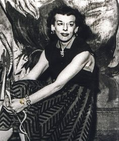 Rosaleen Norton - The Witch of Kings Cross. Probably taken 1950s