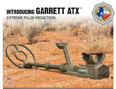 ATX KEY FEATURES • Maximum Detection on all targets at the same time. No need to switch modes to enhance detection of one target while degrading another. • Advanced Ground Balance: has wide range to g