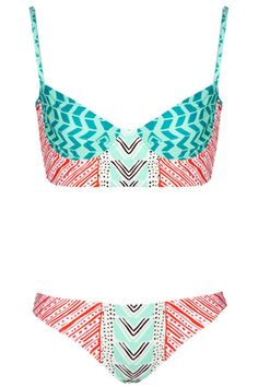 NEEEEED. Mara Hoffman Luau Cami Bikini, $234, available at Les Nouvelles | Refinery29 so cute! @Tatianna Montoya