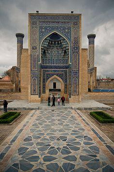 """indigenousdialogues: """"Gur Emir mausoleo, Samarcanda (patrimonio de la humanidad) (por axisofjustice)"""""""