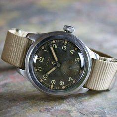 Cyma WWW British WW2 watch Vintage Military Watches, Nato Strap, British Army, Watch Sale, Ww2, Rock, Skirt, Locks, The Rock