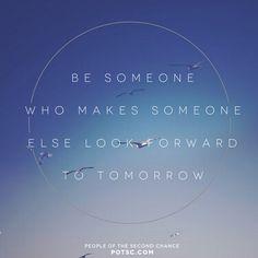 inspire someone today. @POTSC #potsc...