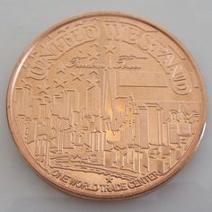 $6.50 Freedom Tower 1 oz .999 Pure Copper Challenge Coin