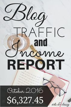 I AM SO EXCITED TO BE COMPLETING MY TENTH INCOME REPORT OF 2016 & 22ND BLOG TRAFFIC AND INCOME REPORT OF ALL TIME! I am still in disbelief that I am now in my 2nd year of treating my blog like a biz. If you are new here…I started my blog in April of 2012 but just messed around with it for the first 2 years while I was soaking up as much info as I could about the art of blogging, marketing, & other biz strategies.