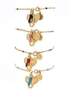 Blee Inara - Elephant & Horn Bracelet