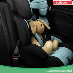 A baby friendly car seat! #SudocremBabyWishlist