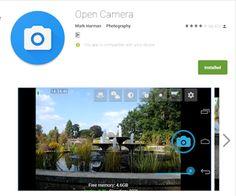 Tech Support TV: افضل برنامج للكاميرا لجميع هواتف الاندرويد Open Ca...
