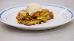 Verloren brood van brioche met appel en ijs | Dagelijkse kost