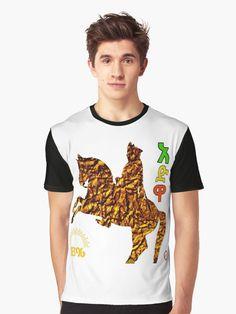 This Design represents King Minilek. Fashion Shirts, Tshirt Colors, Ethiopia, Shirt Style, Chiffon Tops, Heather Grey, Shirt Designs, Classic T Shirts, Polo Ralph Lauren