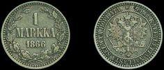 Finland 1Markka silver