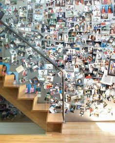 Magnetic wall. Doing this for the magnets I've collected from every place I've visited.