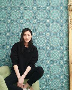 Supermodel Liu Wen