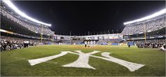 This was once my favorite place on earth - the old Yankee Stadium.