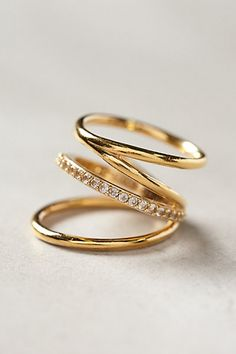 Elizabeth and James Mondrian Ring #anthrofave