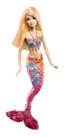 Barbie Pink Color Change Mermaid Doll