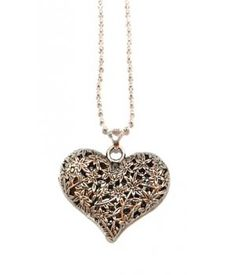 Exquisite Hart Ketting Brons http://www.ovstore.nl/nl/exquisite-hart-ketting-brons.html