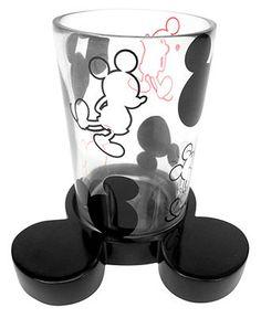 Disney bath accessories disney mickey mouse soap and lotion dispenser mickey mouse disney - Mickey mouse bathroom accessory set ...