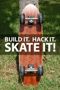 Welcome to the Instructables eBook, Build it. Hack it. Skate it!   Skateboarding is, and has always been, DIY to the core.  Every serious skater has built their own boards, and there's no better ramp or grind rail than the ones you make yourself. Whether you're new to skateboarding or have been skating for years, these projects will help you learn new skills and take your experience to the next level.