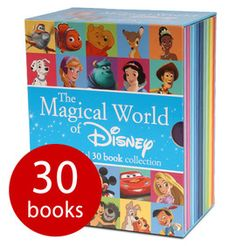 This bumper box set is packed full of Disney favourites! Among the 30 books you'll find the likes of Mickey Mouse, Peter Pan and The Little Mermaid. Walking Dead, Disney Wishes, Book Activities, Activity Books, Presents For Girls, Modern Disney, Book People, Toddler Christmas, Children's Picture Books
