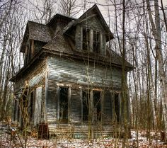 Abandoned house, Bethlehem, New Hampshire