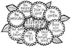 preschool crafts Beatitudes - Google Search