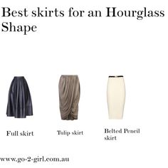 Best skirts for an Hourglass Shape