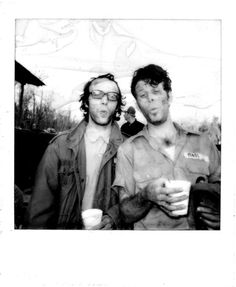 Roberto Benigni and Tom Waits in Down By Law (Jarmusch)