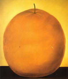 Fernando Botero - Orange