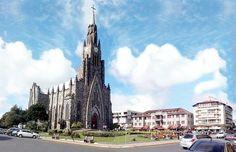 2010 - Catedral de pedra - Igreja Matriz da Cidade - Canela / RS