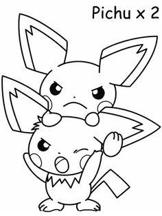 Desenhos para pintar Pokemon 53