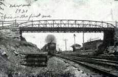 Center street bridge in Cleona PA