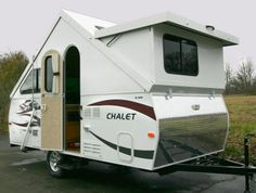 Chalet RV XL 1938 - Nice little camper and yes, it has a bathroom!