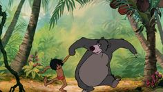Everyone Should Be More Like Baloo | Silly | Oh My Disney