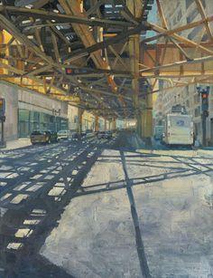 Wells St. : Chuck Meyers (Chicago artist)