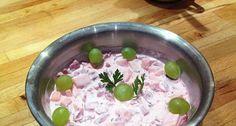 Majonézes alma-cékla saláta | APRÓSÉF.HU - receptek képekkel Salad Dressing, Salad Recipes, Main Dishes, Oatmeal, Bacon, Bbq, Pudding, Breakfast, Desserts