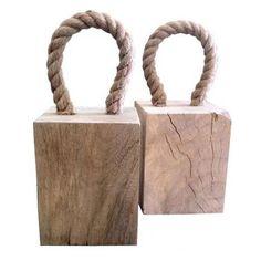 Goddard Wooden Door Stop