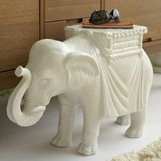 this side table would be perfect in Baby C's nursery!