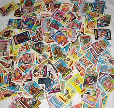 209 Garbage Pail Kids GPK Cards Collection Series 3 4 5 6 7 8 9 10 A B RARE Old   eBay